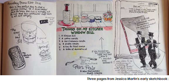 Jessica Martin's Sketchbook