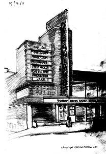 Vintage Cinema by Jessica Martin